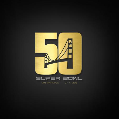 50 Super Bowl logo
