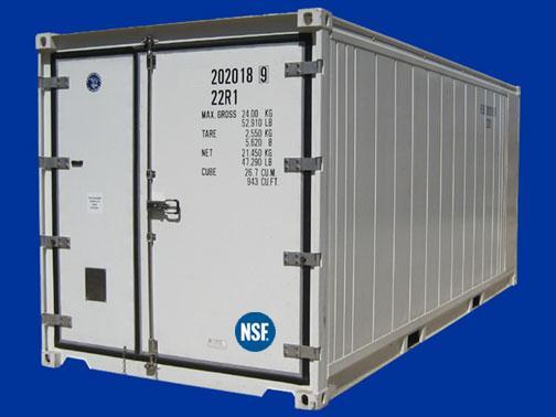 20' Cold Box 220 volt Single Phase