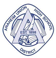 Anaheim Union High School logo