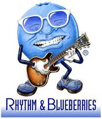 Rhythm & Blueberries logo