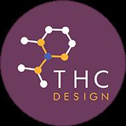 THC Design logo